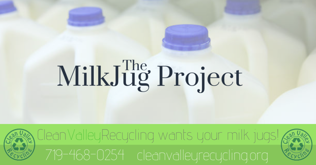 the milkjug project clean calley recycling recycle cvr milk jug
