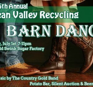 clean valley recycling barn dance 2017 tickets