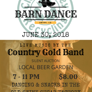 Country Gold Band