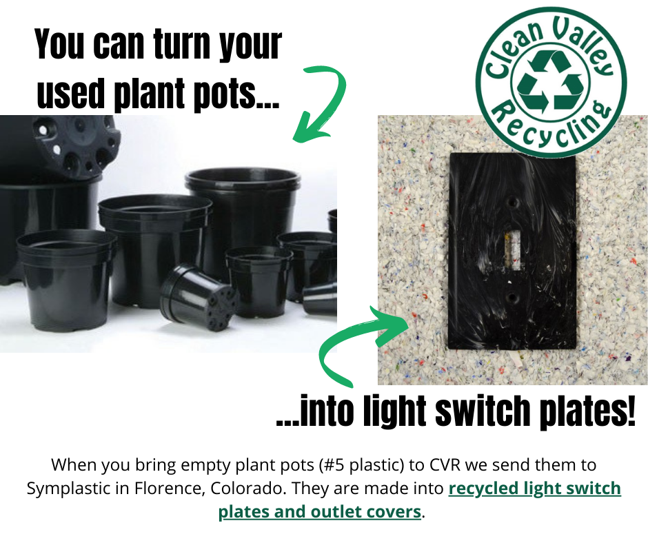 You can turn used bonnie's plant pots into light switch plates